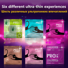 MIO 30 Pieces 6 Styles Top Quality G Spot Condom Fragrance Oral Sex Male Penis Sleeve Condoms Sex Toys Products for Men