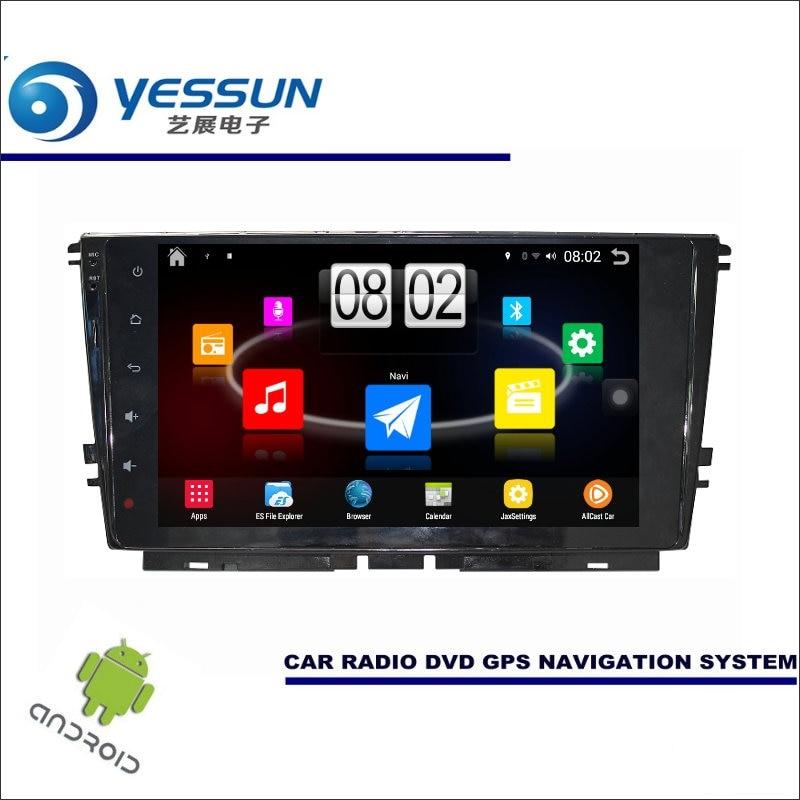 Yessun автомобиля Android мультимедийный плеер для Volkswagen VW lamando 2015-Радио стерео GPS Географические карты nav Navi (без cd DVD) 9 HD Экран