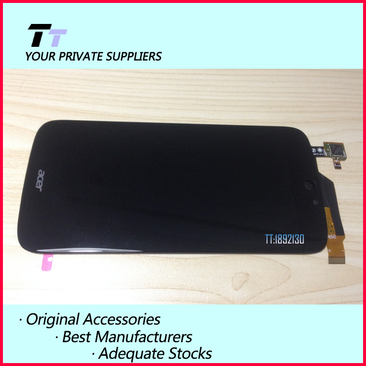 ФОТО 100% Tested New For Acer Liquid Jade S S55 LCD Display + Digitizer Touch Screen Replacement Cell Phone Parts Free shipping