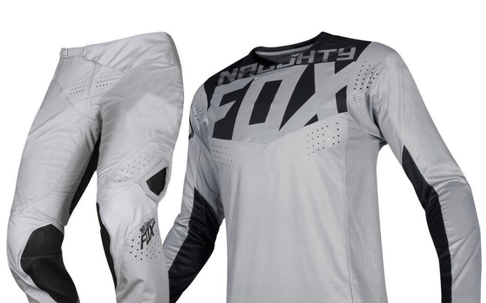 Nouveau 2019 vilain FOX MX 360 Kila gris Jersey pantalon adulte Motocross Racing Gear Set Combo ATV Dirt Bike hors route