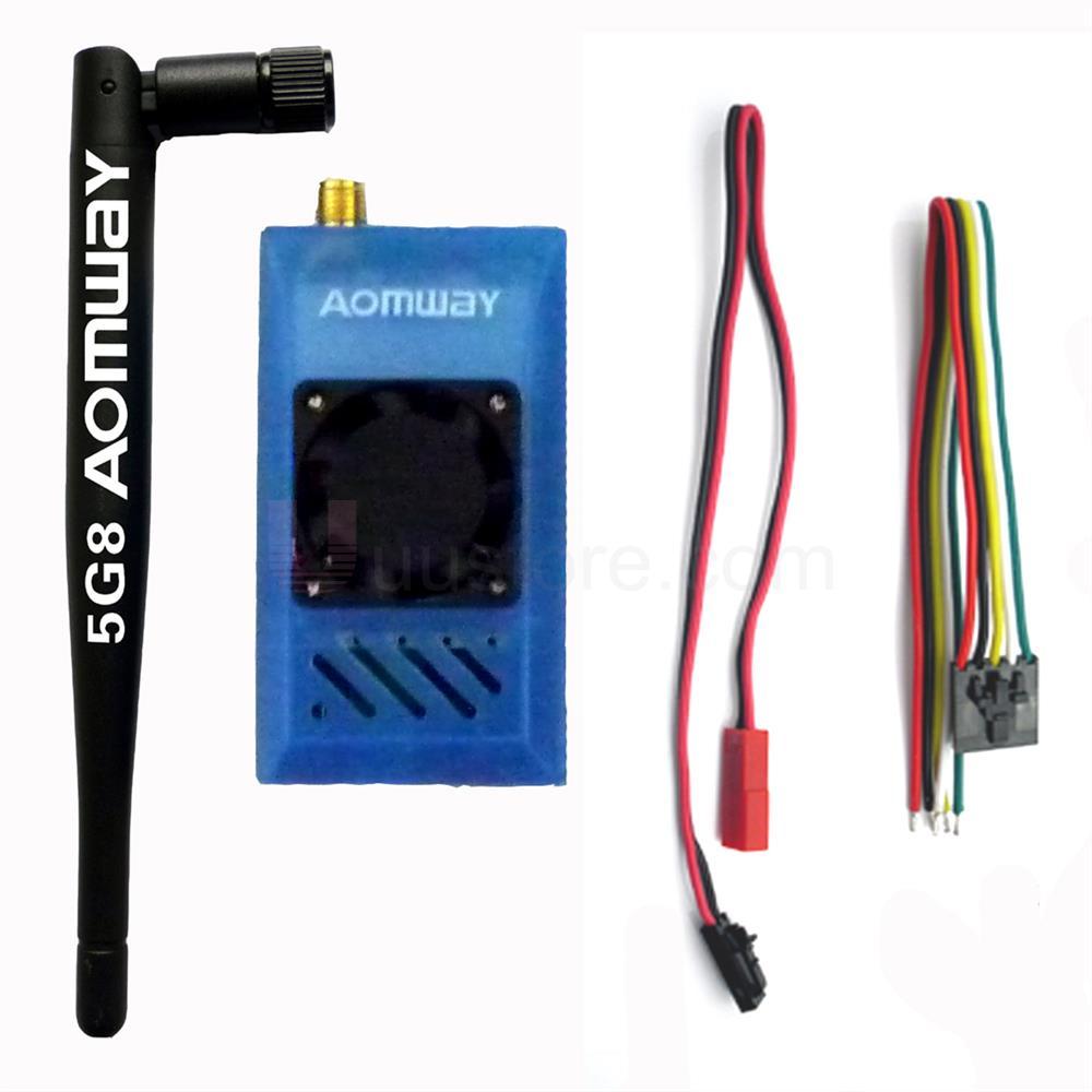 8 км Long Range FPV-системы aomway 5.8 г 1000 МВт 1 Вт TX Беспроводной aodio передатчик видео камеры Drone (совместимость Fatshark skyzone)