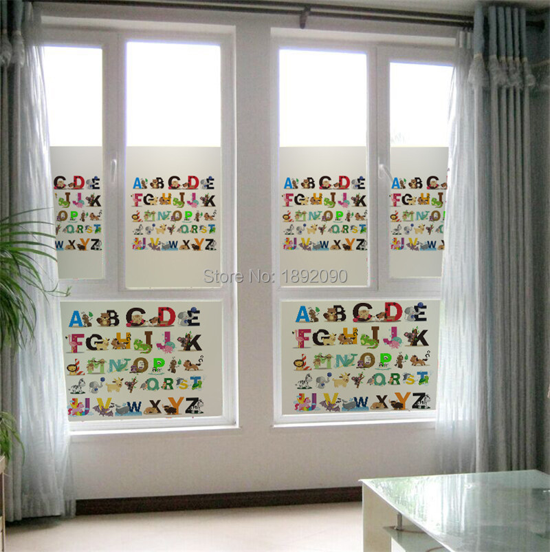 Hot Sale New Design Vinyl Privacy Frosted Glass Window Film - Frosted vinyl window decals