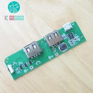 Image 5 - 5โวลต์1A 1.5A 8เซลล์แบตเตอรี่Power BankราคาDIYชุดPower Bankชาร์จS Tep Upเพิ่มโมดูลชาร์จแผงวงจร