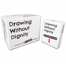 Drawing Without Dignity Board Games Combo Pack Adult Party Game  Expansion Pack 1 Funny Children's educational toys human dignity