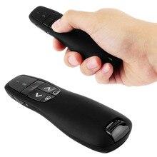 1pc RF 2.4GHz Wireless Presenter USB Remote Control Presentation Laser Pointer Hot Worldwide 2016