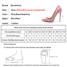Shoes Brand DORESFANNY Sexy Womens s Pointed Stilettos