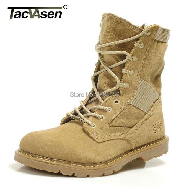 Aliexpress.com : Buy Tacvasen Tactical Men's Combat Boots Genuine ...
