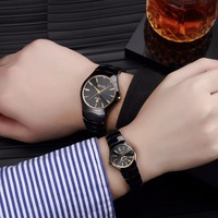 DALISHI Top Brand Ceramic Couple Watches Fashion Casual Simple Style Men/Ladies Quartz Watch Ladies Charm Clock Montre Femme