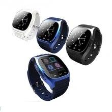 Bluetooth-uhr smart m26 SmartWatch ios für iPhone 4/4S/5/5s samsung s4/Anmerkung 3 htc android telefon smart android uhr
