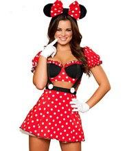 Ensen Miney mouse font b women b font dress love live font b cosplay b font