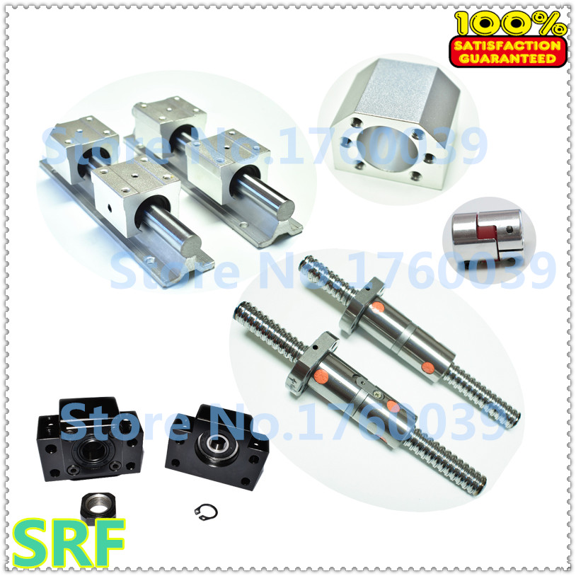 3 ballscrew DFU1605-350/850/1050+3sets BK/BF12+2set SBR20 rails+4sets SBR16 rail+3 couplers+3pcs 1605 ballnut housing botticelli sport limited низкие кеды и кроссовки