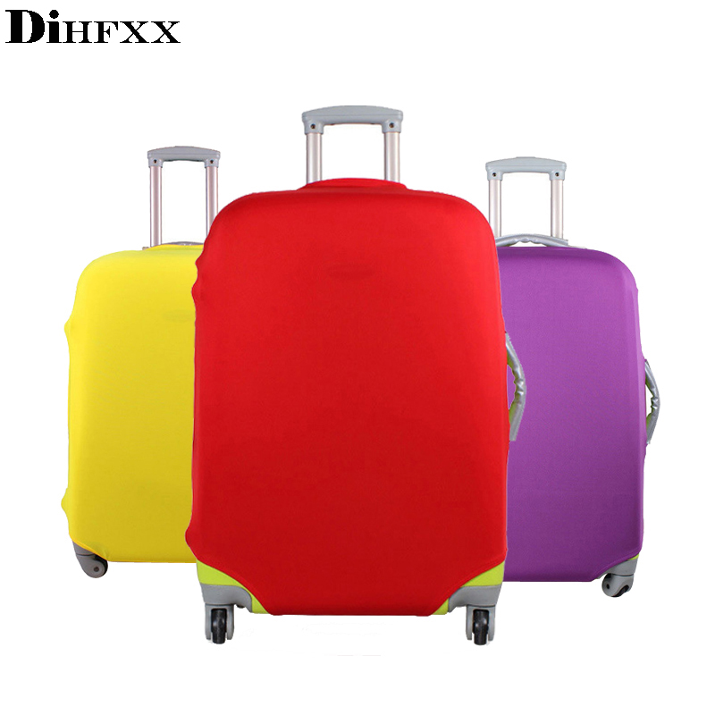 DIHFXX Suitcase And Luggage Candy Color Protective Cover For 18~30inch Trolley Case Elastic Dust Cover, Travel Accessories DX-02