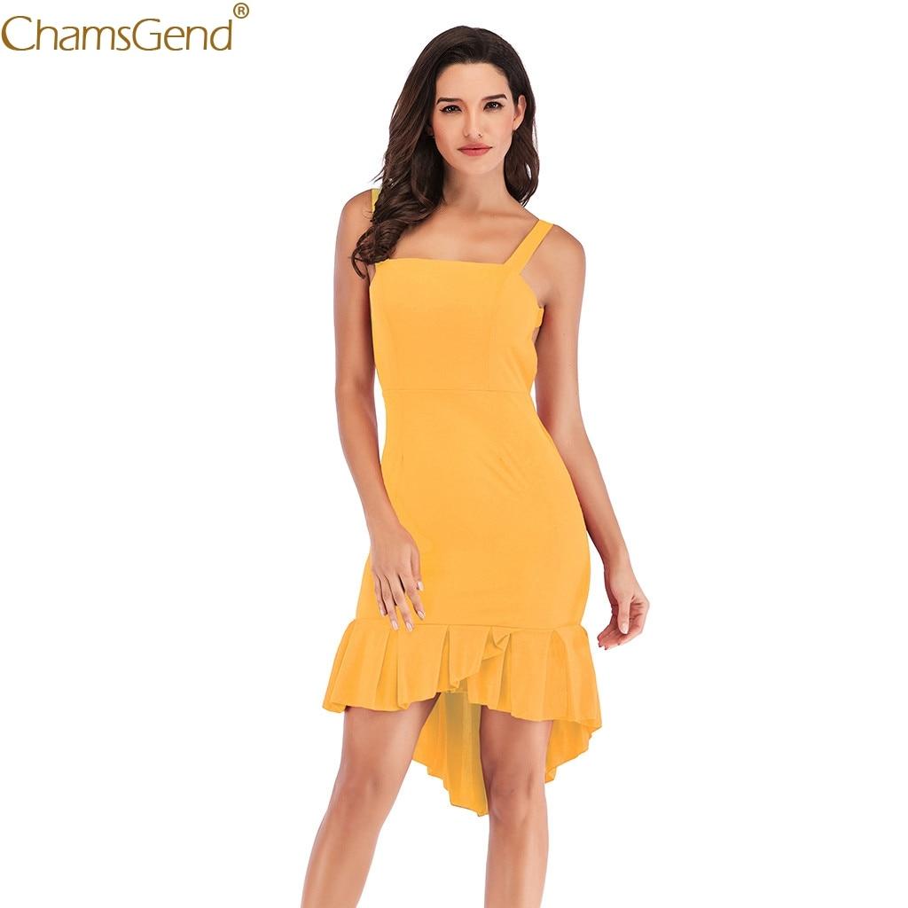 Spaghetti Strap Sleeveless formal dress women elegant bodycon dress women dress women plus size Casual Stretchy Solid Mar16