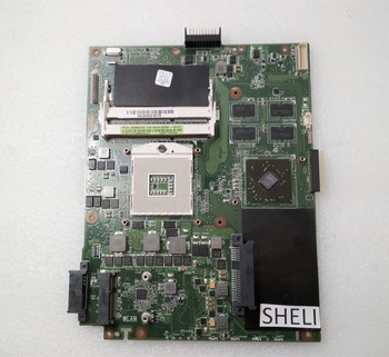 SHELI For Asus K52JR K52JY Motherboard with HD5470 Video Card 1GB REV:2.0 HM55