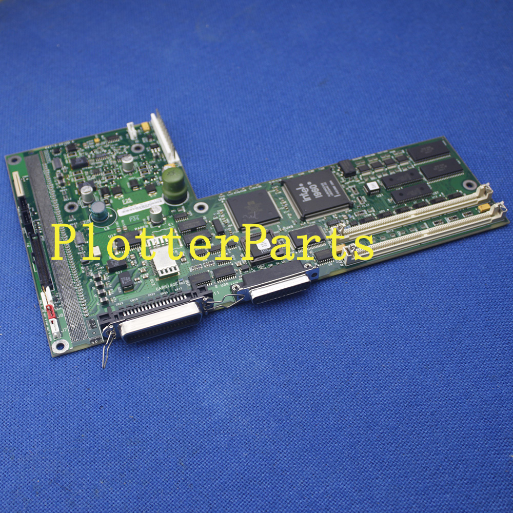 C4713-60100 main logic board for HP DesignJet 430 plotter parts Original used c4704 40059 pinch arm media lever for hp designjet 2000cp 2500cp 2800cp 3000cp 3500cp 3800cp plotter parts