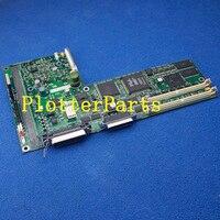 C4713-60100 placa lógica principal para HP DesignJet 430 peças plotter Original usado