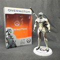 OW Tracer Widowmaker Reaper WINSTON SOLDIER:76 Action Figure Model kids Toys Gifts Collection Tracer PVC 28CM game figure Genji