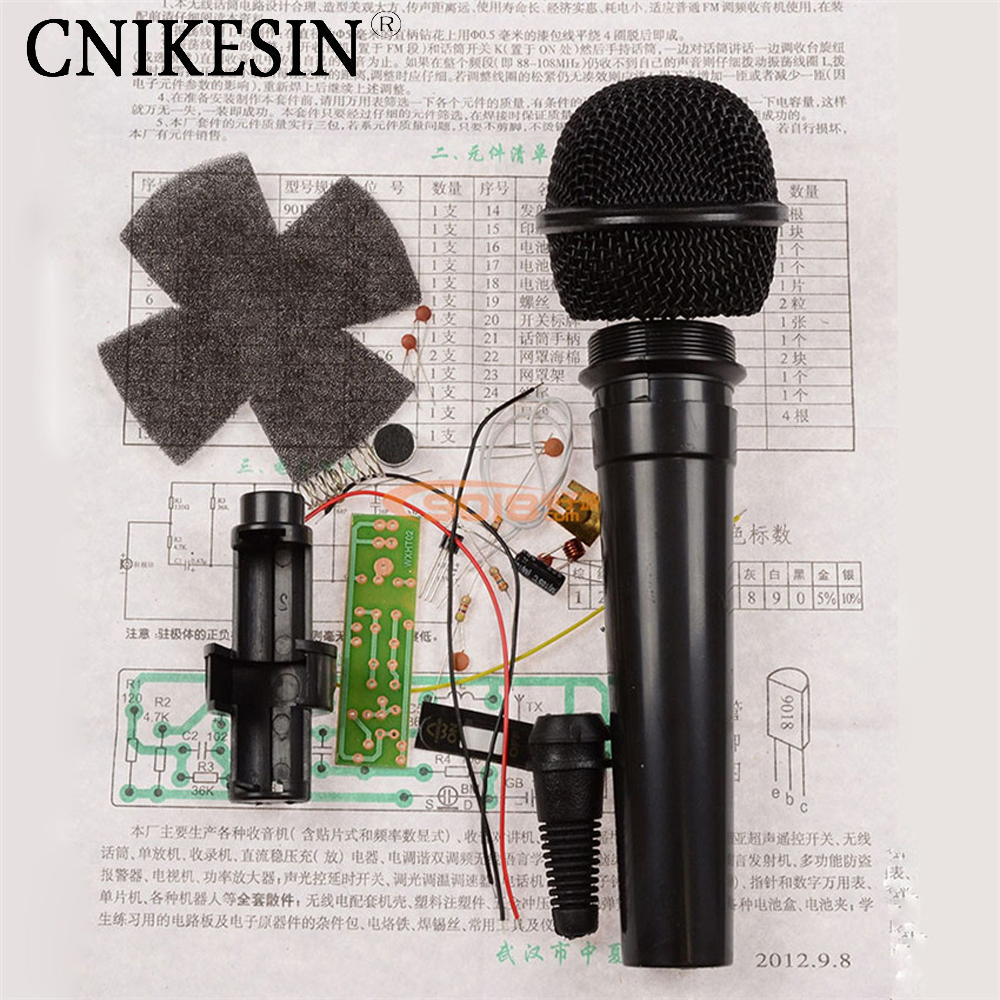 CNIKESIN Diy kit WXHT02 type FM wireless microphone  electronic parts maker Suite / radio DIY