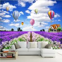 Customize DIY 3d wallpapers murals for Kids Room wallpaper for walls 3 d Home Decor Hot Air Balloon wallpapers papel de parede