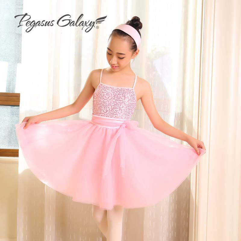 Roupa De Bailarina Sequin Dress Girls Stage Performance Dance Costumes Ballerina Adults Ballet Tutus Long Dress Ballet Leotards