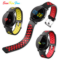 Color Screen Smart Sport Bracelet Heart Rate Fitness Tracker Smart Wristband Blood Pressure Watch for Samsung Galaxy J7 J5 J3 J1