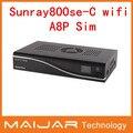 Sun800se cable con wifi Enigma2 receptor digital de satélite sunray 800se a8p sim trabajo para OE2.0 multimedia cable oem