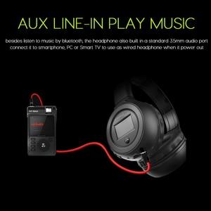 Image 5 - Zealot B570 Tai Nghe Stereo Bluetooth Không Dây Tai Nghe Chụp Tai Màn Hình LCD FM Radio Thẻ TF MP3 Chơi Có Micro