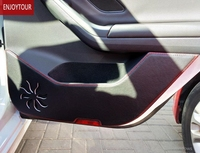 Car Door Anti Kick Pads Protection Accessories For Jaguar XF XFL XE F PACE F TYPE