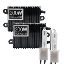 TPTOB 2 個 200 ワットバラストキット HID キセノン電球 12 V H1 H3 H7 H11 9005 9006 4300 18k 5000 18k 6000 18k 8000 18k