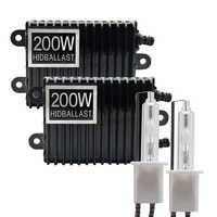 TPTOB 2 stücke 200 W Ballast kit HID-Xenon-glühbirne 12 V H1 H3 H7 H11 9005 9006 4300 k 5000 k 6000 k 8000 k