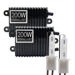 TPTOB 2 stuks 200 W Ballast kit HID Xenon gloeilamp 12 V H1 H3 H7 H11 9005 9006 4300 k 5000 k 6000 k 8000 k