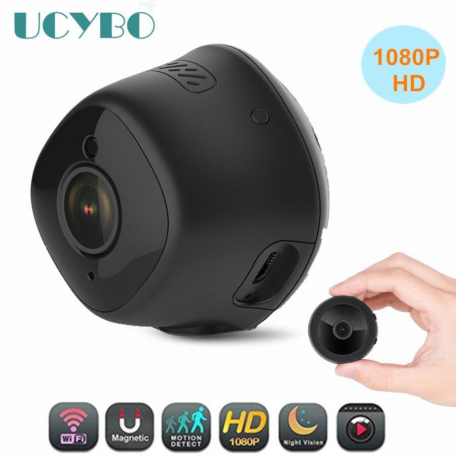 Micro Mini caméra ip wifi 1080 P HD 2mp sans fil réseau de sécurité à domicile caméscope nounou bébé moniteur détection de mouvement pour téléphone