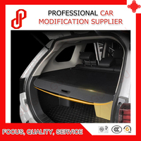 Black color Rear Trunk Security Shield retractable Cargo cover Tonneau cover for MG GS