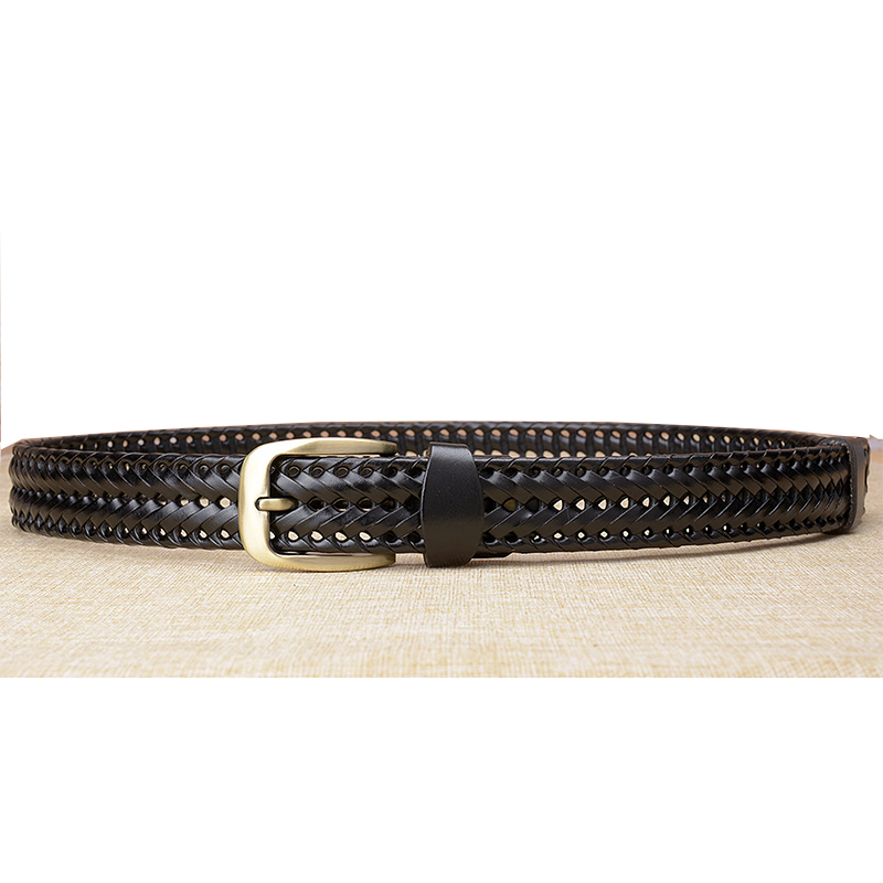 Pin Buckle Woven Knitted Quality Belt 8