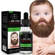 Natural Organic Men Beard Growth Oil Beard Wax balm Hair Los