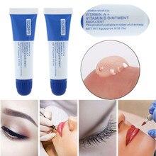 ใหม่ 5PCS Microblading ถาวรอุปกรณ์แต่งหน้า Eyebrow Lip TATTOO Ointment Aftercare Body Art แต่งหน้าถาวร TATTOO Supplies