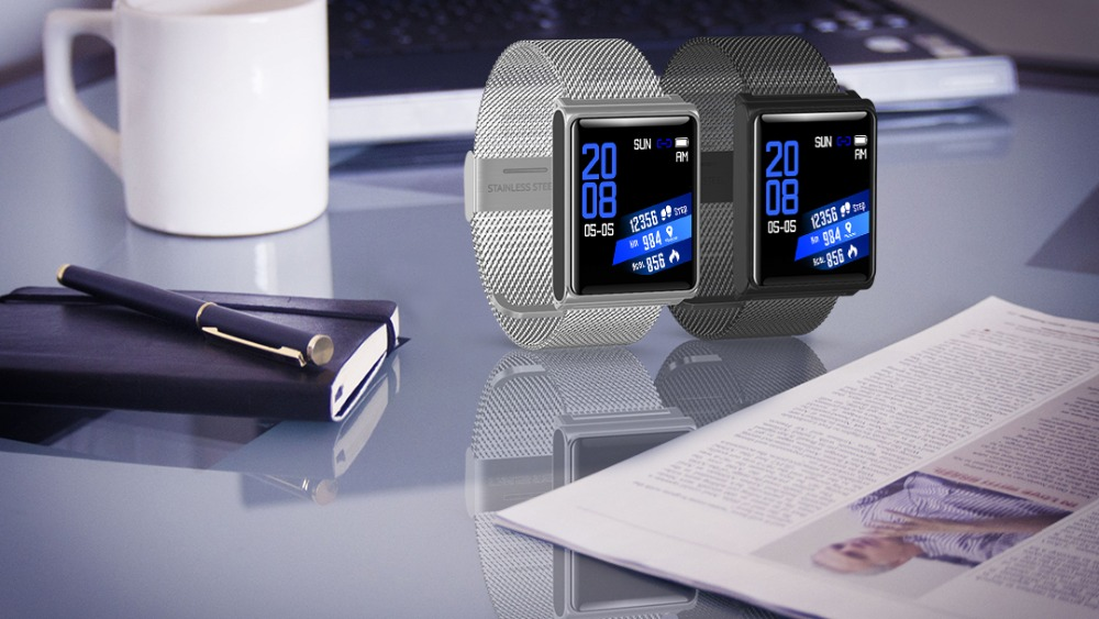 Smart Watch Bracelet N98 Color Full Screen Waterproof Fitness Tracker Clock Wristband Heart Rate Monitor Pressure For Xiaomi IOS 21