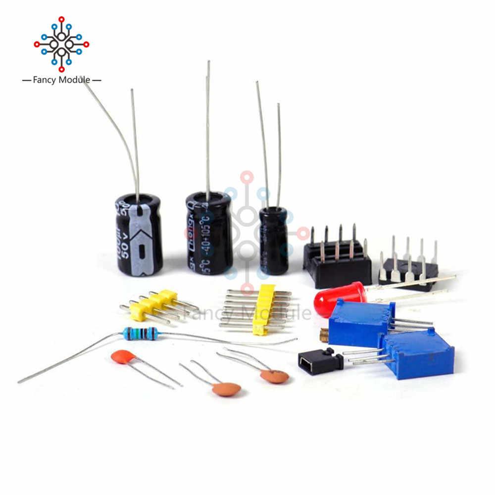 Adjustable NE555 Pulse Frequency Adjustable Module Duty Cycle Module Square Wave Signal Generator DIY Kit