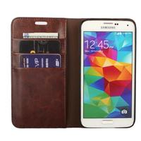 S6 Deluxe Wallet Case For Samsung Galaxy S5 I9600 Genuine Leather Case Magnetic Flip Cover G9000