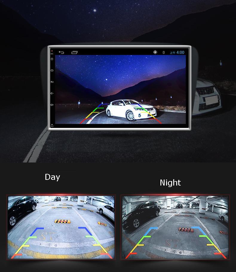 HD cámara de visión trasera de coche 170 grados de ángulo 4