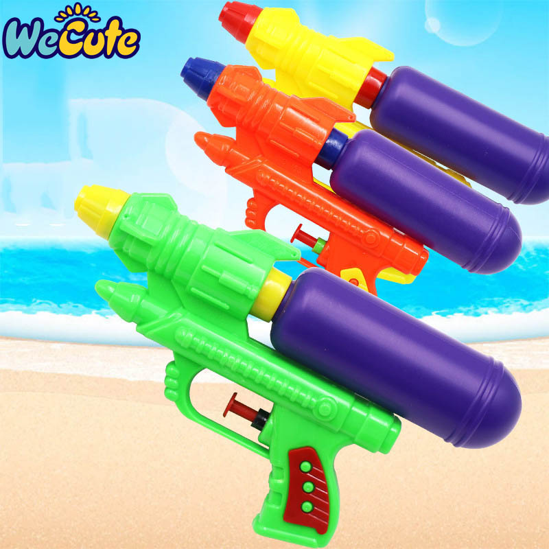Wecute Water Guns Toys Classic Baby Toys Outdoor Beach Water Pistol Blaster Gun Portable Squirt Gun Kids Beach Toys Random Color