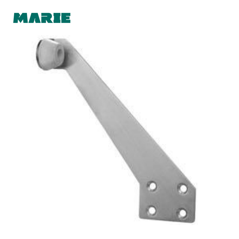 DS043 Heavy Duty Door Stopper Siainless steel#304 Soft Rubber Foot Spring Loaded Easily Step-On Door Stoppers Holder цена в Москве и Питере
