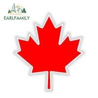 EARLFAMILY 13 cm x 11.3 cm Feuille d'érable du Canada érable vinyle Autocollant Autocollant Autocollant Auto réfléchissant voiture autocollants