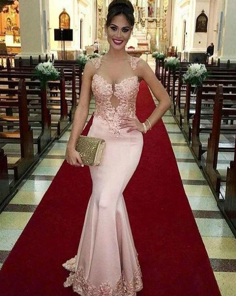 Vestidos Elegantes De Noche Para Boda Brb85c24a