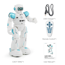 LEORY Интеллектуальный RC гуманоидный робот для детей, подарок на день рождения, Рождество, программирование, пульт дистанционного управления, роботика, игрушка, пой