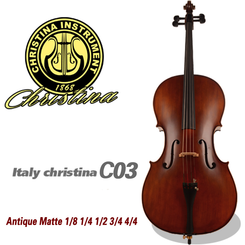 4 4 3 4 Christina Cello Handmade Profissional Instrumento