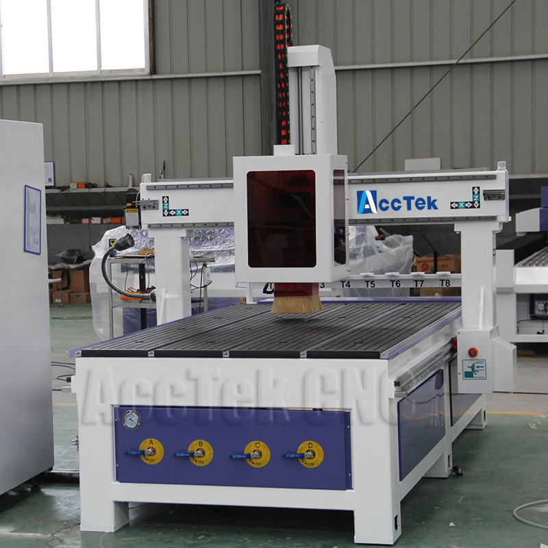 CE standard high precision Helical Rack 1325 Linear atc woodworking cnc router machine