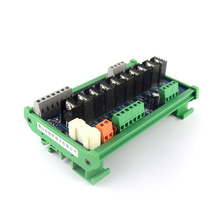 10-way PLC DC Amplifier Board Power Output Expansion Board Relay Isolation Protection Board RC Anti-surge Relay