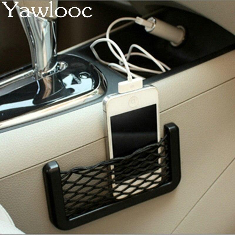 Pocket Holder Car Trunk Box Storage Bag Mesh Net Bag Car Styling Luggage Sticker Trunk Organizer Stuff Pocket Holder Travel