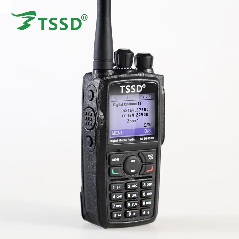 Hot Sell Portable DMR Transmitter Radio TSSD TS-D8600R Digital Walkie Talkie Radio